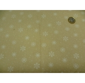 Snowflake White/Natural (per 1/4 metre)