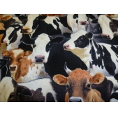 Farm Animals Cotton Fabric (per 1/4 metre)