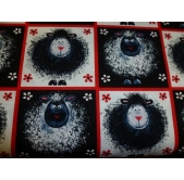 Red and Black Sheep (per 1/4 metre)