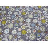 Enchanted Garden Flowers (per 1/4 metre)