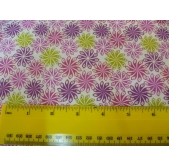 Lewis and Irene Dulce Brasil Pink Pico Flower (per 1/4 metre)