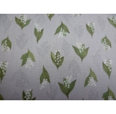 Lily of the Valley on Dove Grey (per 1/4 metre)