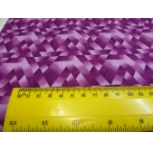 Purple Triangles (per 1/4 metre)