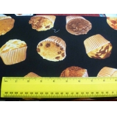 Timeless Treasures Muffins (per 1/4 metre)