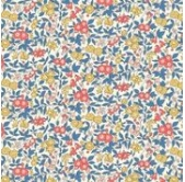 Liberty Forget me Not Coral (per 1/4 metre)