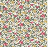 Liberty Forget me Not Red (per 1/4 metre)