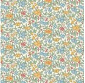 Liberty Forget me Not Yellow (per 1/4 metre)