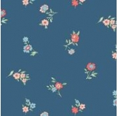 Liberty Little Vine Blue (per 1/4 metre)