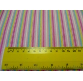 Timeless Treasure Pink Stripe ~(per 1/4 metre)