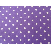 Dot Purple (per 1/4 metre)