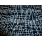 Stitch Check Black (per 1/4 metre)