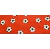 Red Footballs Polycotton PC1