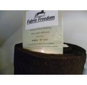 Fabric Freedom Black Wadding (per half metre)