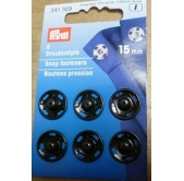 Snap Fasteners 15mm