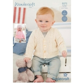 Stylecraft Wondersoft 4 ply Knitting Pattern 8976