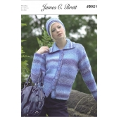 James C Brett Knitting Pattern 021