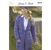 James C Brett Knitting Pattern 030