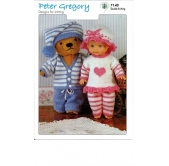 Peter Gregory Knitting Pattern 7140