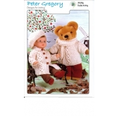 Peter Gregory Knitting Pattern 7176