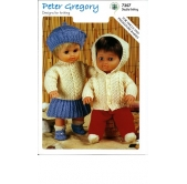 Peter Gregory Knitting Pattern 7207
