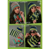 Stylecraft Crochet Pattern 8763 Accessories