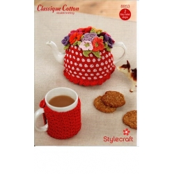 Stylecraft Classique Cotton Crochet Pattern 8853
