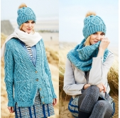 Stylecraft Knitting Pattern 9554
