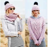 Stylecraft Knitting Pattern 9555
