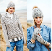 Stylecraft Knitting Pattern 9556