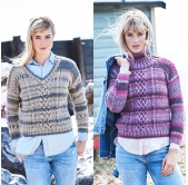 Stylecraft Knitting Pattern 9568