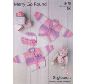 Knitting pattern Merry go round 8670