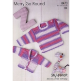Knitting Pattern Merry go Round 8473
