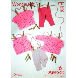 Stylecraft Crochet Pattern 8717