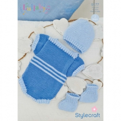 Stylecraft Knitting Pattern 9177