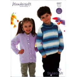 Stylecraft Knitting Pattern 8967