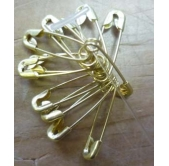Small safety pins