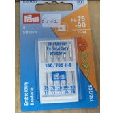 Prym Embroidery Machine Needles