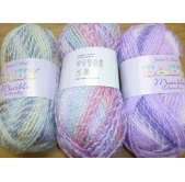 James C Brett Baby Marble Chunky Knitting Yarn