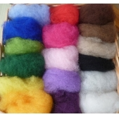 Fibres for Dry Needle Felting